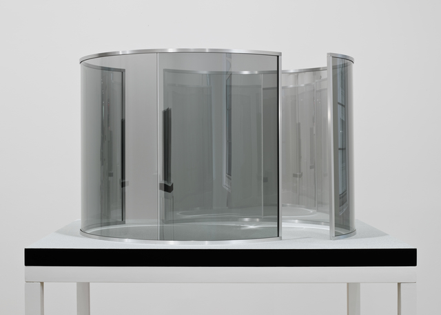 , 'Two Half-Cylinders Off-Aligned, edition 1/3,' 2000, Marian Goodman Gallery
