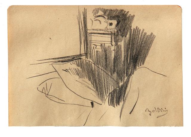 Giovanni Boldini, 'Angolo di camera da letto', Ambrosiana Casa d'Aste