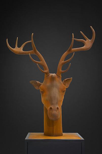 Mauro Corda, 'Tête Girafe Cerf', 2015, Mark Hachem Gallery