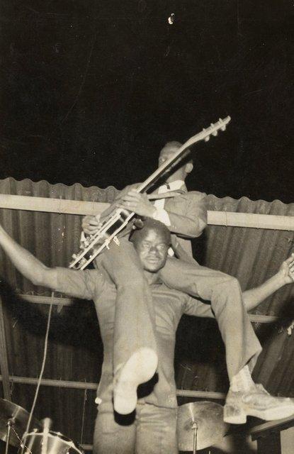 , 'Tiamodjan, the lead guitarist for Echo del Africa Nacional. ,' 1965-1975, Art Institute of Chicago