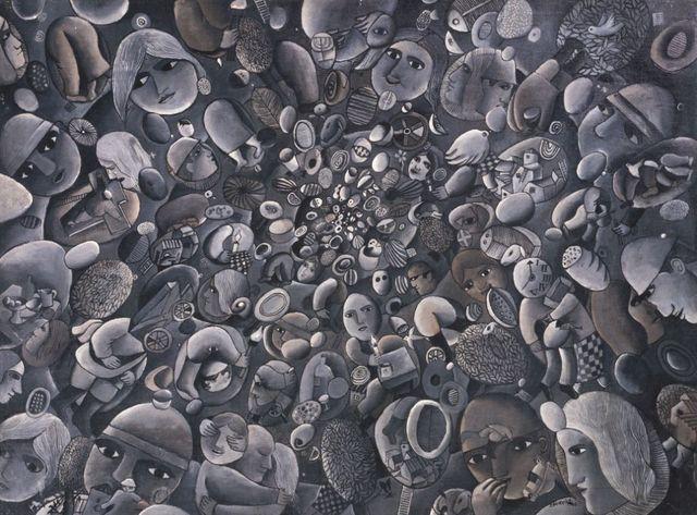 , 'El Mundo de las esferas,' 1967, Galeria Sur