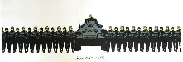 Banksy, 'Have A Nice Day', 2003, The Drang Gallery