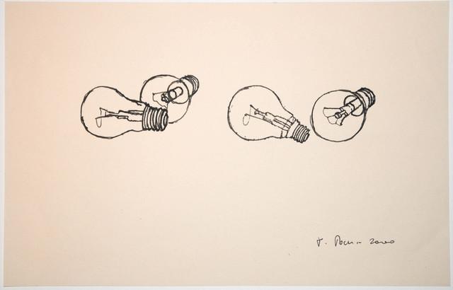 Fritz Panzer, '4 Glühbirnen', 2000, Alberta Pane