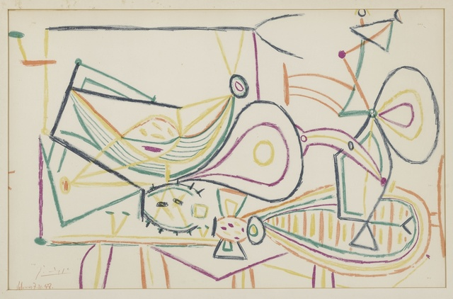 Pablo Picasso, 'Untitled: Vallauris 7.10.1948', 1948, Sotheby's
