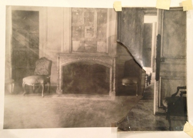 ", 'Fireplace in the Petit Apartments of Versailles, from ""Unseen Versailles"",' 1980, Staley-Wise Gallery"