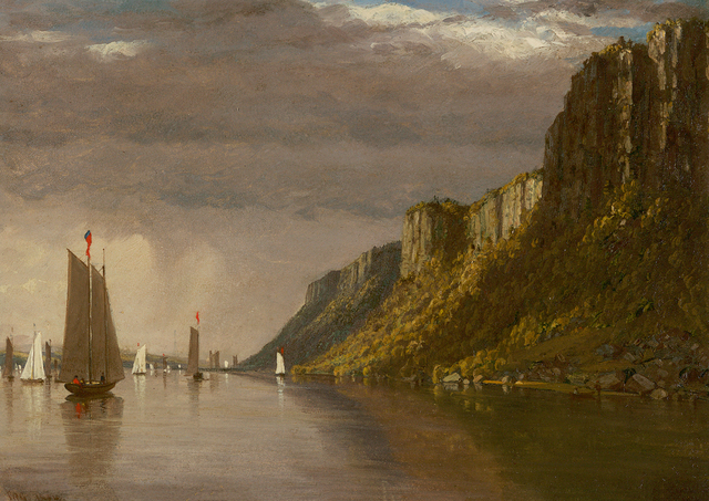 , 'The Palisades, New York,' 1854, Questroyal Fine Art