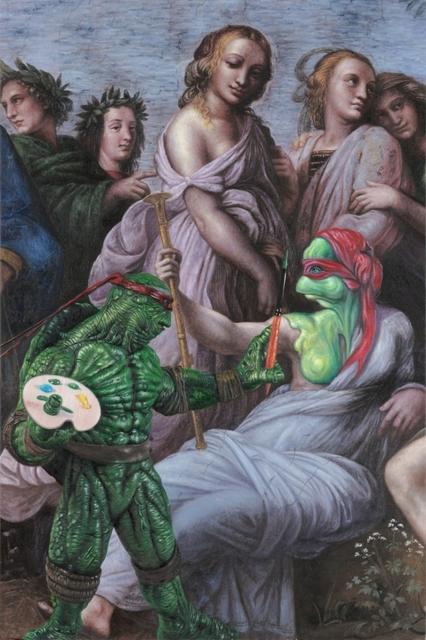 , 'TMNT Raphael,' 2014, Weinstein Gallery