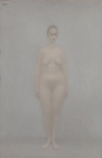 , 'Standing nacked woman,' 1976, Art4.ru