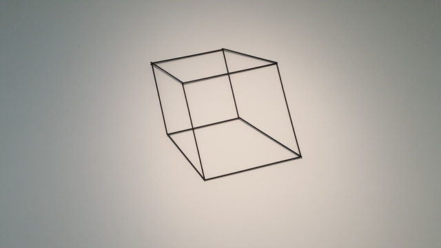 , 'Cubo,' 2001, Galeria Murilo Castro