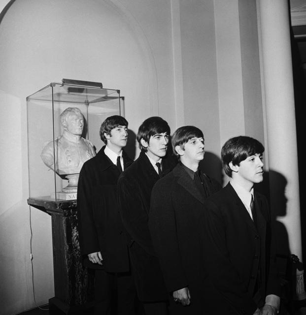, 'Beatles with Napoleon Statue, Paris ,' 1964, TASCHEN