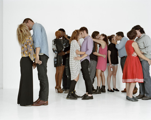 , 'Photographs With an Audience (Miami) Push and Press #1-3,' 2011, Nina Johnson