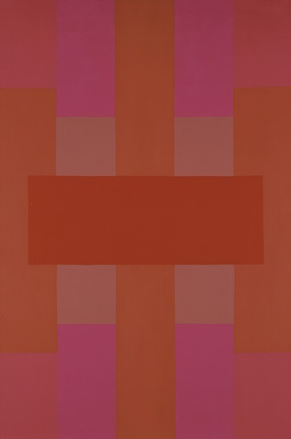 Ad Reinhardt, 'Red Abstract', 1952, Painting, Oil on canvas, Yale University Art Gallery