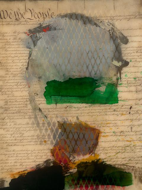 , 'Paper Tiger #9,' 2015, Long-Sharp Gallery