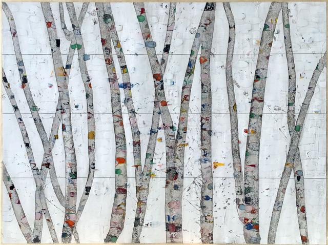 , 'The Inner Life of Trees #3,' 2017, Julie Nester Gallery