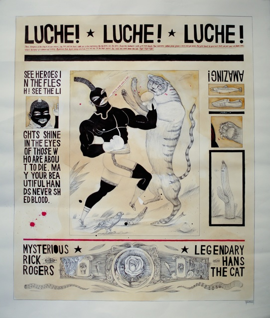, 'Luche!,' 2011, Barry Whistler Gallery