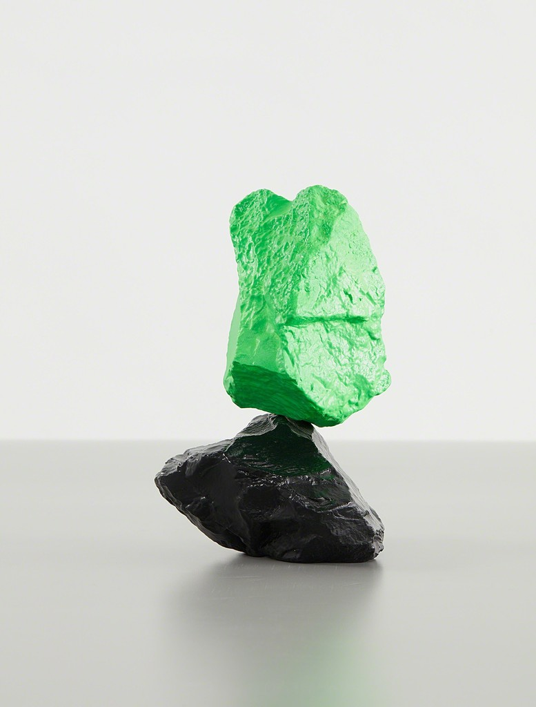 Small Black Green Mountain