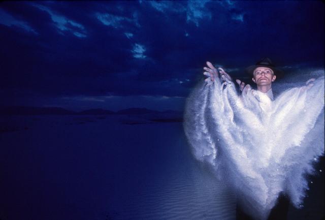 , 'David Bowie: Thin White Duke, White Sands, New Mexico.,' 1976, ElliottHalls