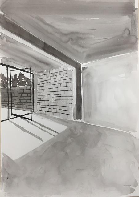 , 'Ink Rooms 1,' 2017, Galerie Huit