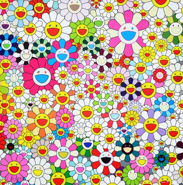 Takashi Murakami, 'Maiden In The Yellow Straw Hat', 2010, Lougher Contemporary