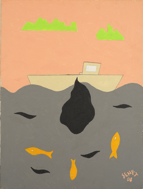 , 'Oil Spill,' 2008, Fountain House Gallery
