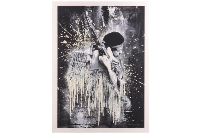 Mr. Brainwash, 'Jimi Hendrix', 2015, Chiswick Auctions
