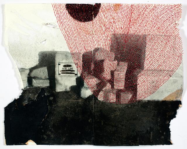 , 'A dark shape is spreading,' 2017, Galerie Krinzinger