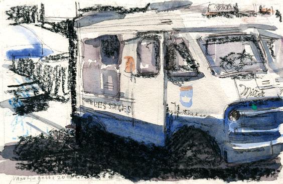 , 'No Title (Milk-Truck II) ,' 2008, Aki Gallery