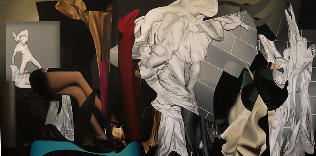 , 'La parábola del descubrimiento,' 2015, Diablo Rosso