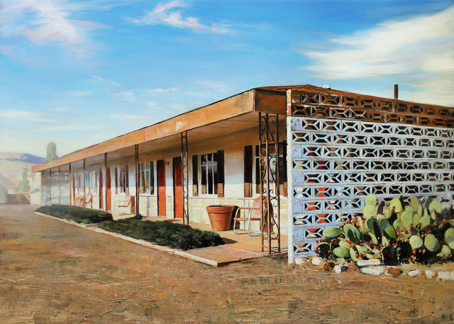 , 'Buena Vista Motel,' 2015, Sue Greenwood Fine Art