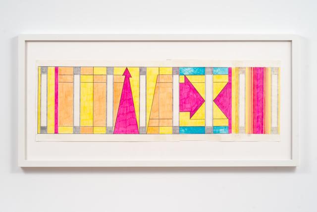 , 'Live (Moca Mural Study),' 2010, Fleisher/Ollman