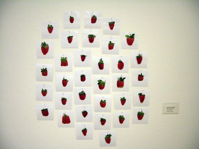 , '1 pound Strawberries,' 2007, Dvir Gallery