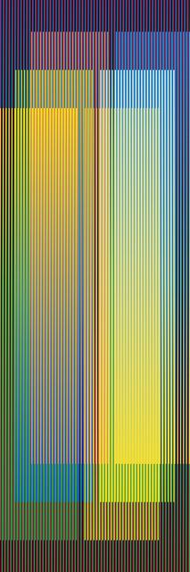 Carlos Cruz-Diez, 'Color Aditivo Serie Larga Panam 4', 2010, Marion Gallery