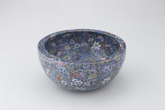 Yuki Hayama, 'Bowl with 'Ten Thousand Flowers' Motif', 2016, Ippodo Gallery