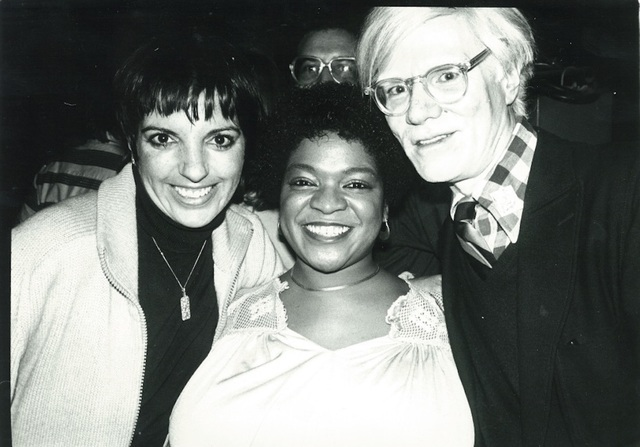 Andy Warhol, 'Andy Warhol, Photograph with Liza Minnelli and Nell Carter circa 1979', ca. 1979, Hedges Projects