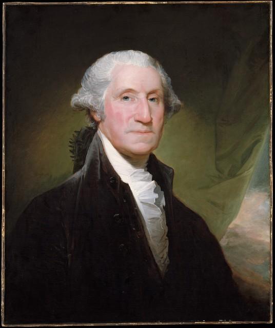 Gilbert Stuart, 'George Washington', 1795, The Metropolitan Museum of Art