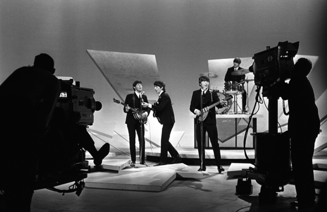 , 'Beatles on Ed Sullivan, (Cameras Showing), NYC,' 1964, Holden Luntz Gallery