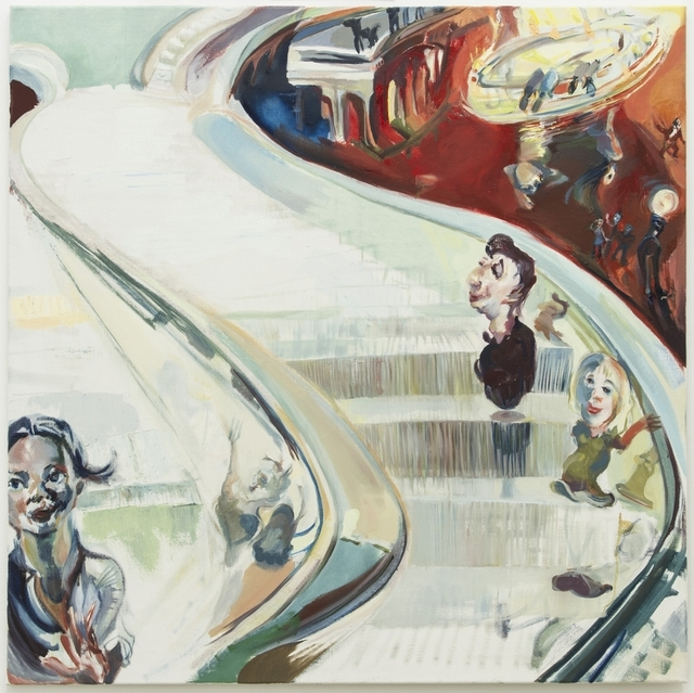 , 'Rolltreppe II,' 2012, Galerie Elisabeth & Klaus Thoman