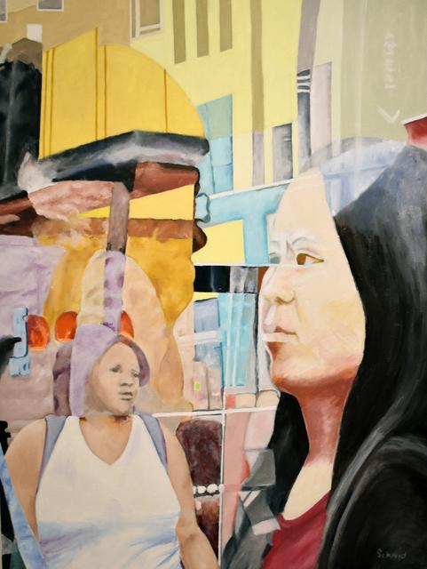 , 'Aqua Dream,' 2018, Carter Burden Gallery