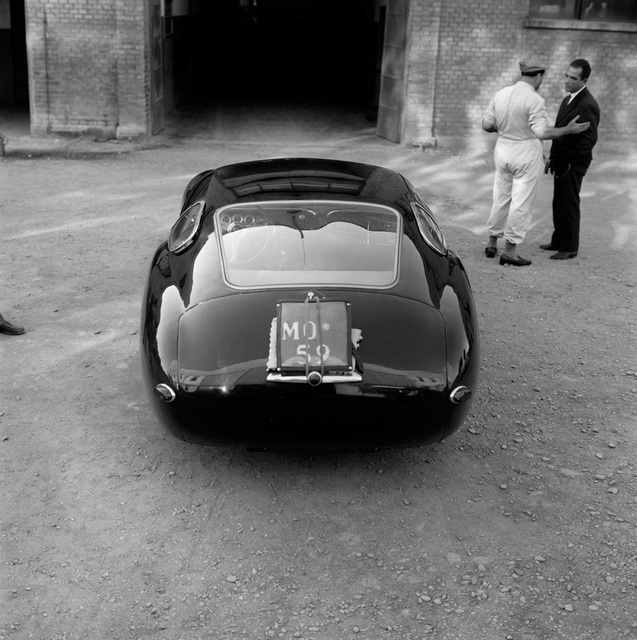 , 'Maserati 4.5 Coupe Prototype at Modena,' 1957, Robert Klein Gallery