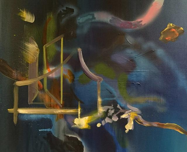 , 'Golden Door,' 2015, Galerie Sandhofer