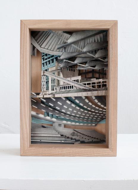 , 'Elektrizität im Bauwesen,' 2016, Raum mit Licht