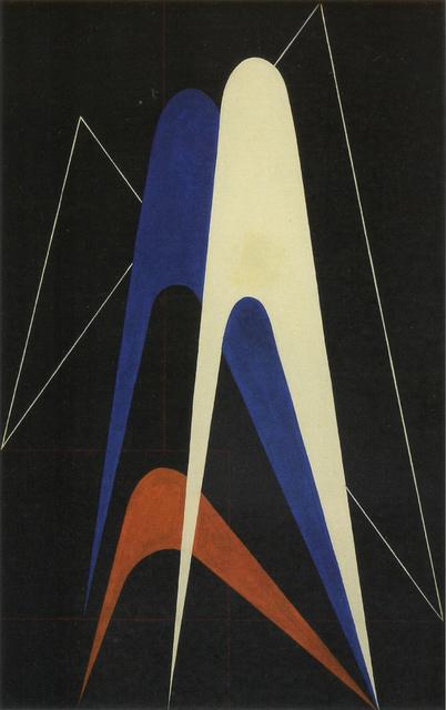 , 'Forme nello spazio,' 1948, Cardelli & Fontana artecontemporanea