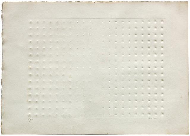 Enrico Castellani, 'Rilievo', 1976, Ambrosiana Casa d'Aste