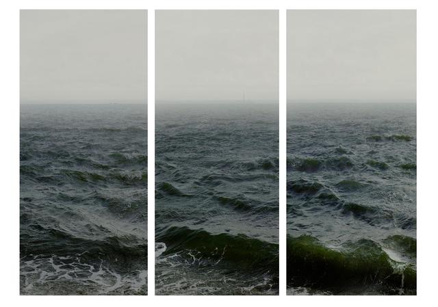 , 'Water III, part 1,2 & 3, (Shoeburyness towards Isle of Grain),' 2015, Flowers