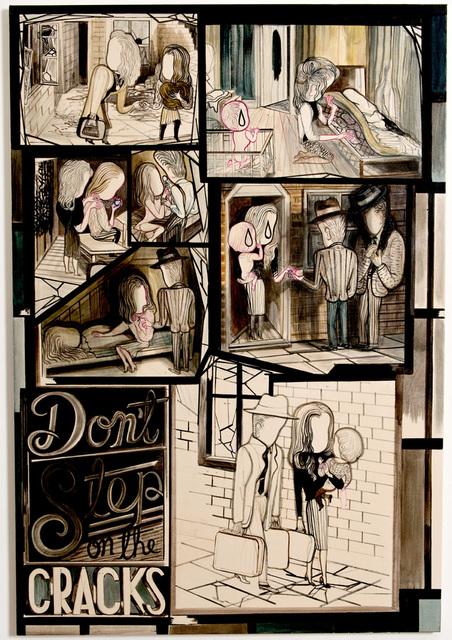 , 'Don´t Step on the Cracks,' 2011, Petra Rinck