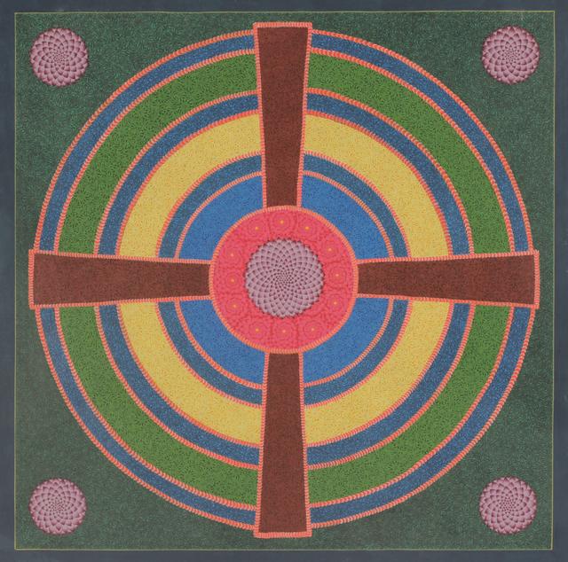 Alexander Gorlizki, 'Lotus Mandala', 2018, Berggruen Gallery