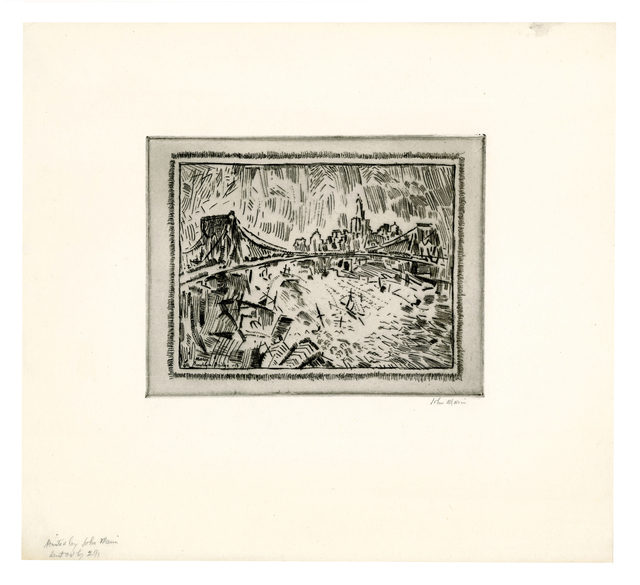 , 'Brooklyn Bridge and Lower New York,' 1913, Keith Sheridan, LLC