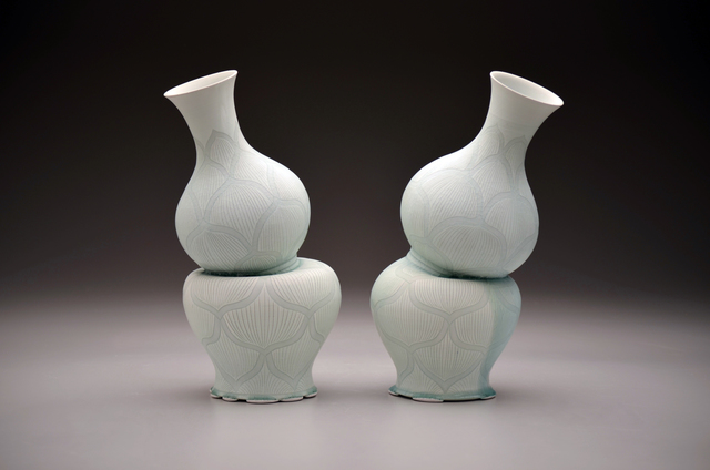, 'Gourd Vases with Lotus Pattern,' 2016, Duane Reed Gallery