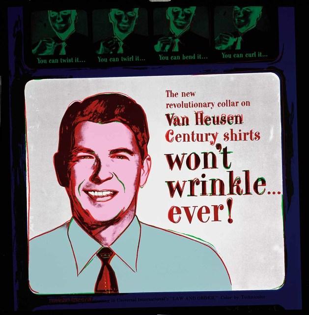 Andy Warhol, 'Van Heusen, 1985 (#356, Ads) ', 1985, Martin Lawrence Galleries