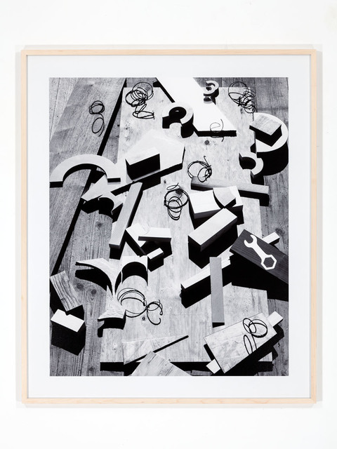 , 'Plywood, Wrench, Springs ,' 2018, Galerie Xippas